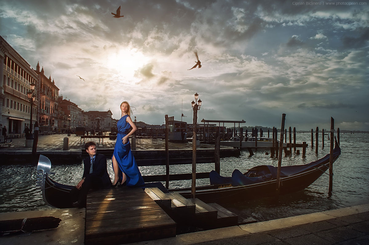 Engagement photography in Venice, Italy