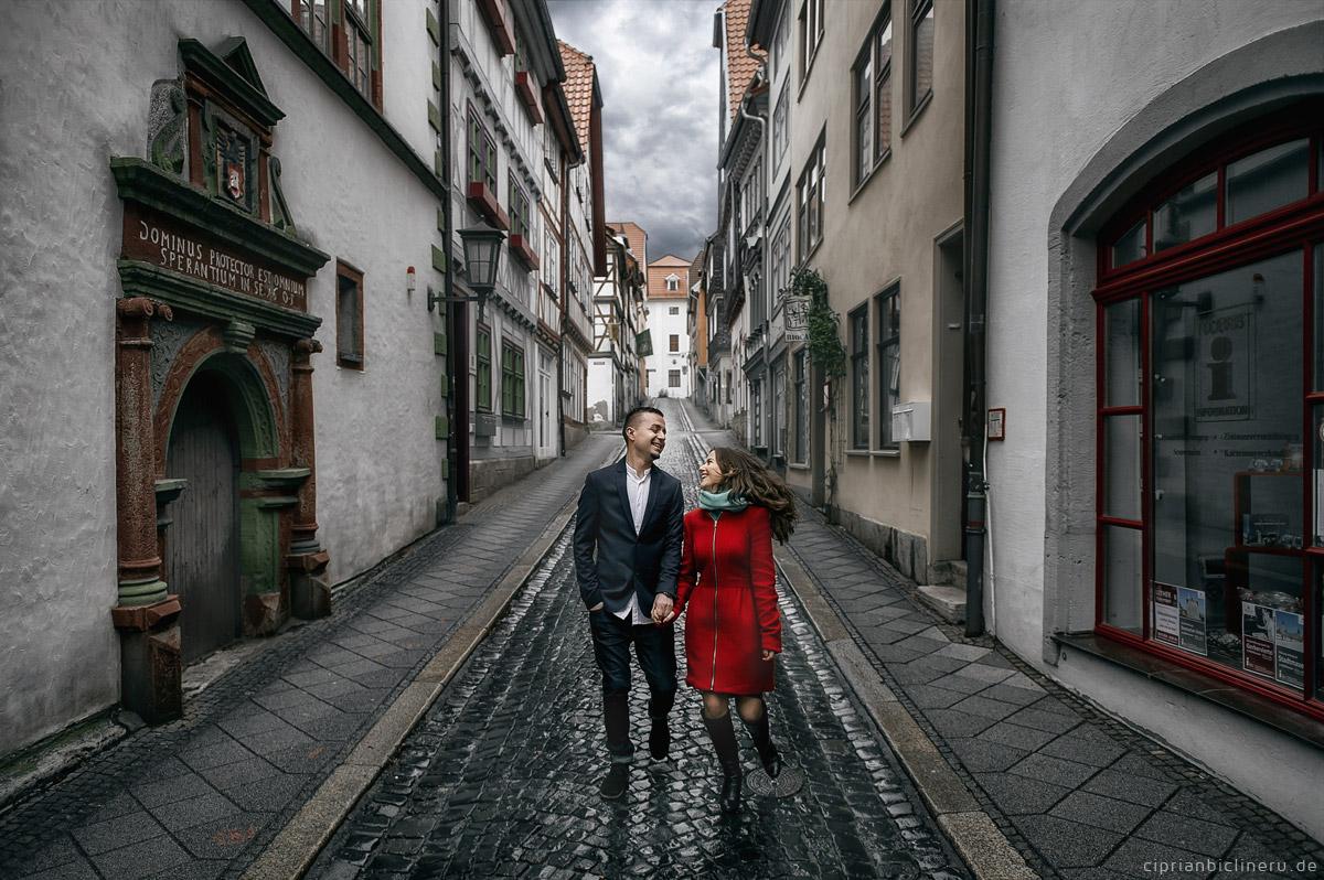 Verlobungsshooting im Mühlhausen
