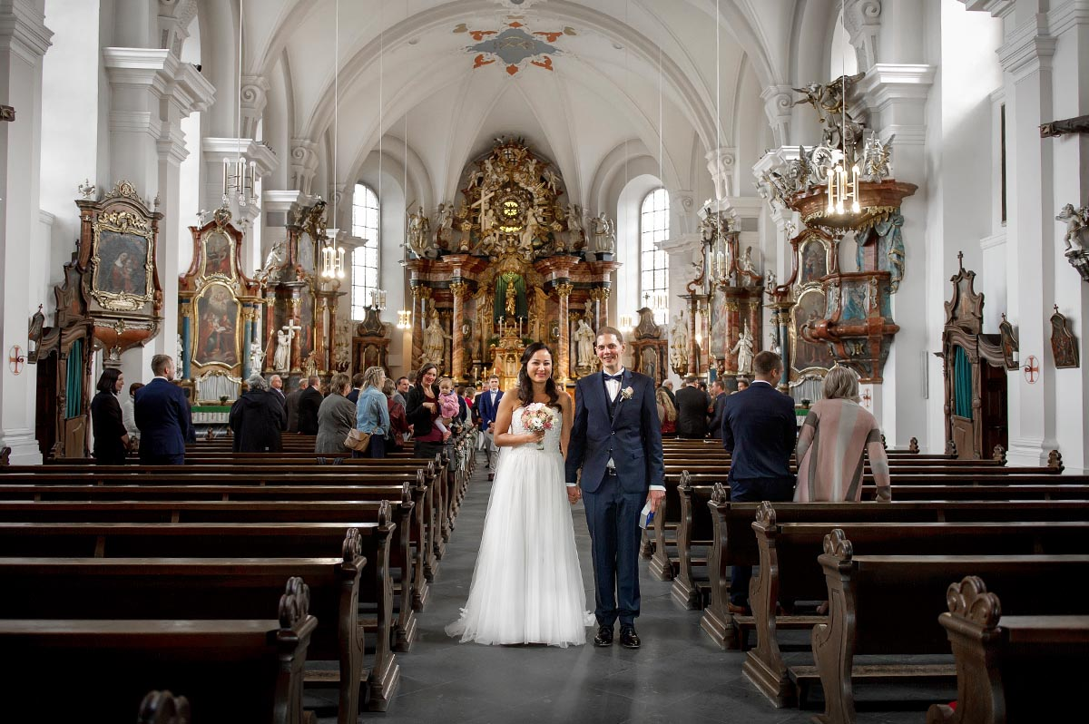 Kirchliche Trauung in Frauenbergkirche Fulda