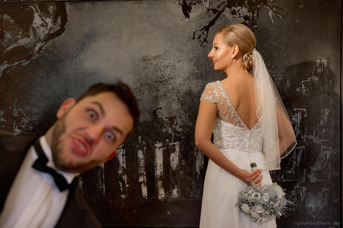 viel Spaß beim Hochzeitsfotoshooting