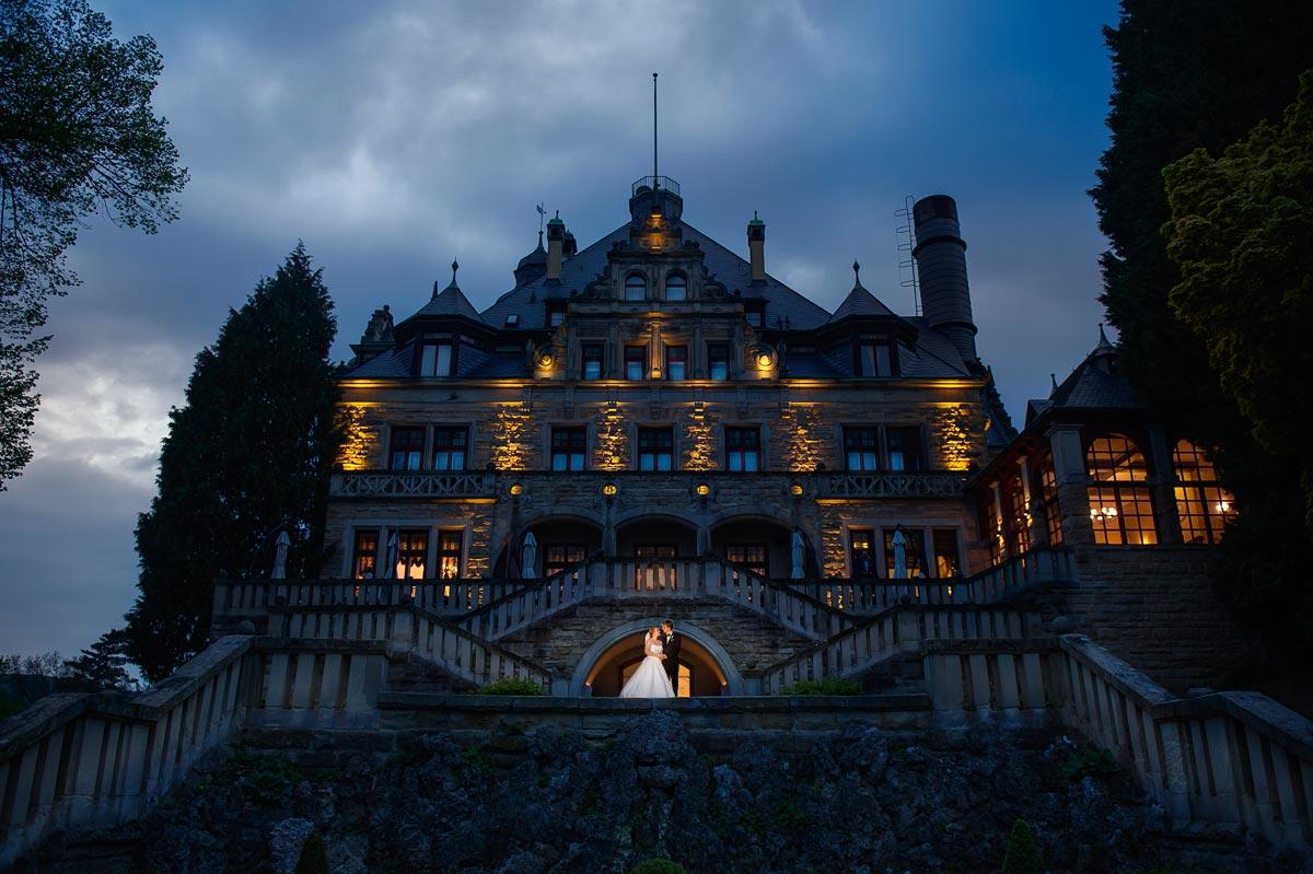 Hochzeitsfotograf im Schloss Wolfsbrunnen