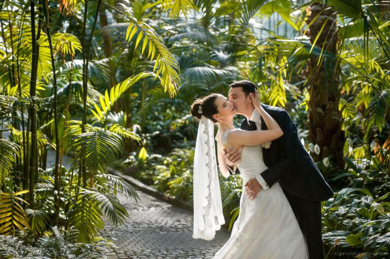 Hochzeitsfotograf in Palmengarten Frankfurt