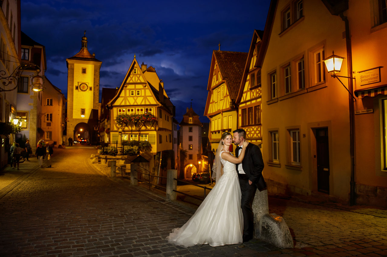 After Wedding Shooting im Rothenburg ob der Tauber