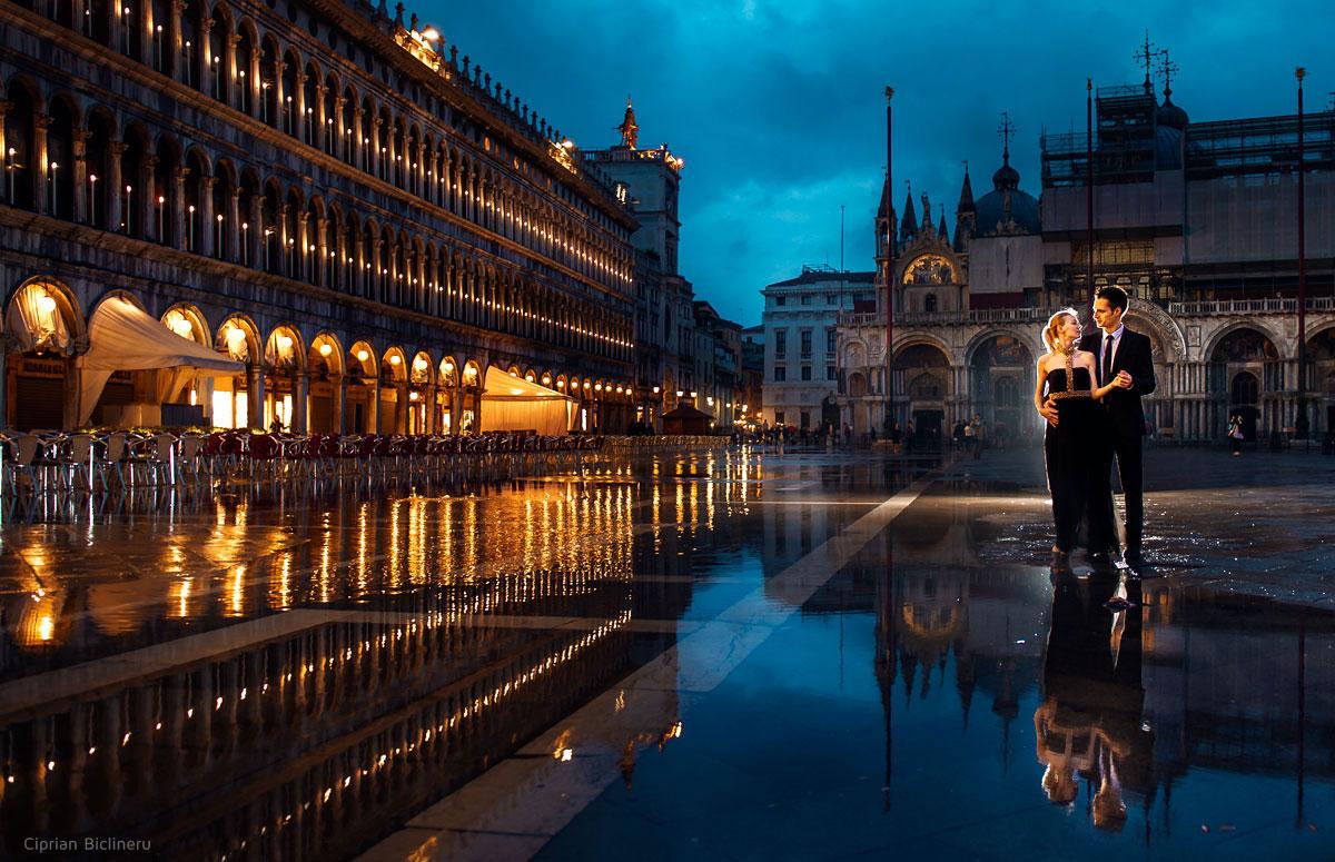 Verlobungsfotos im Venedig