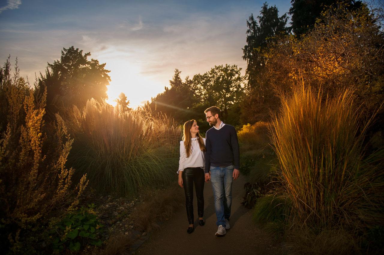 Verlobungsshooting in Palmengarten Frankfurt am Main