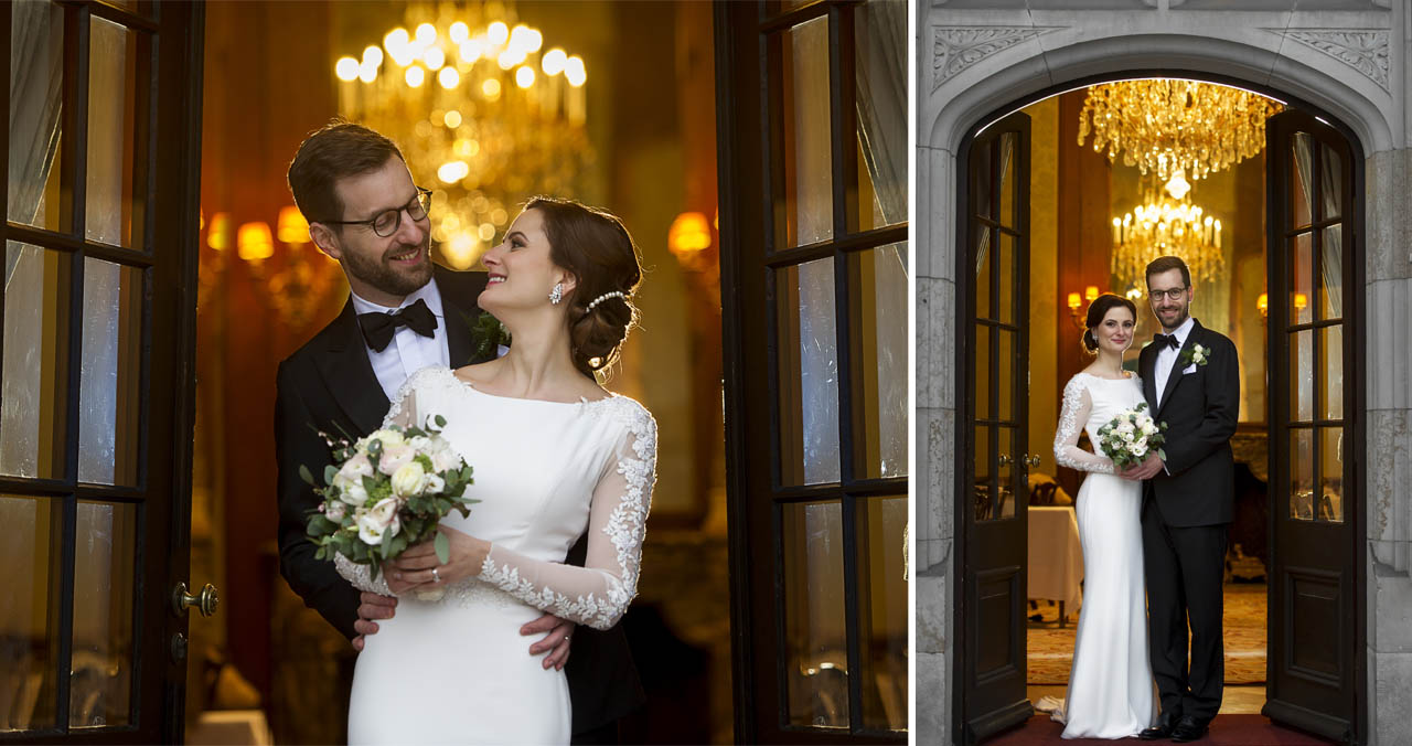 Wedding at the Castle Kronberg - bride and groom photo shoot