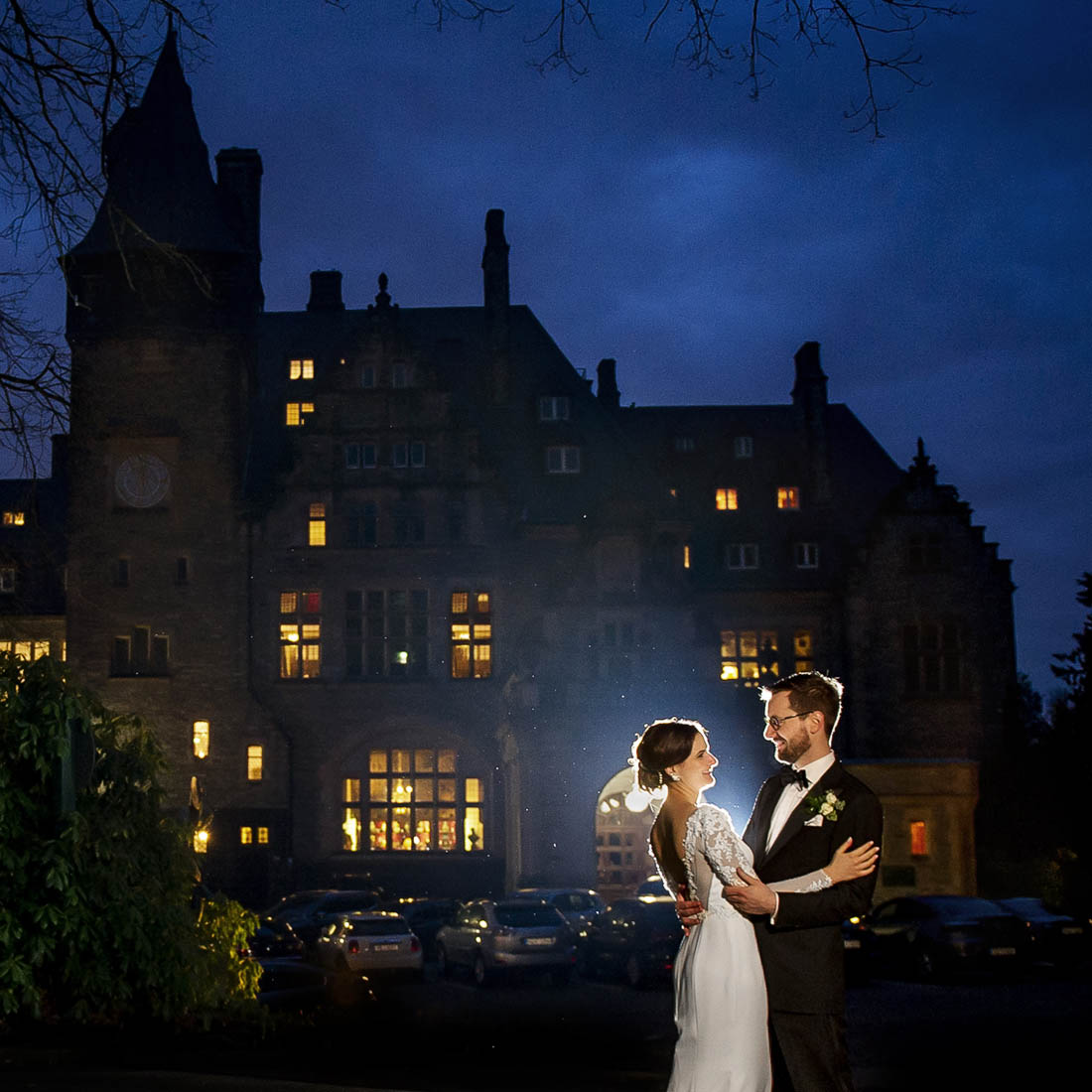 Wedding at the Castle Kronberg bride and groom photoshoot