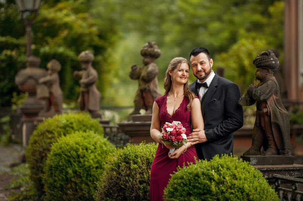 Standesamt Höchst - Brautpaarshooting im Bolongaropalast