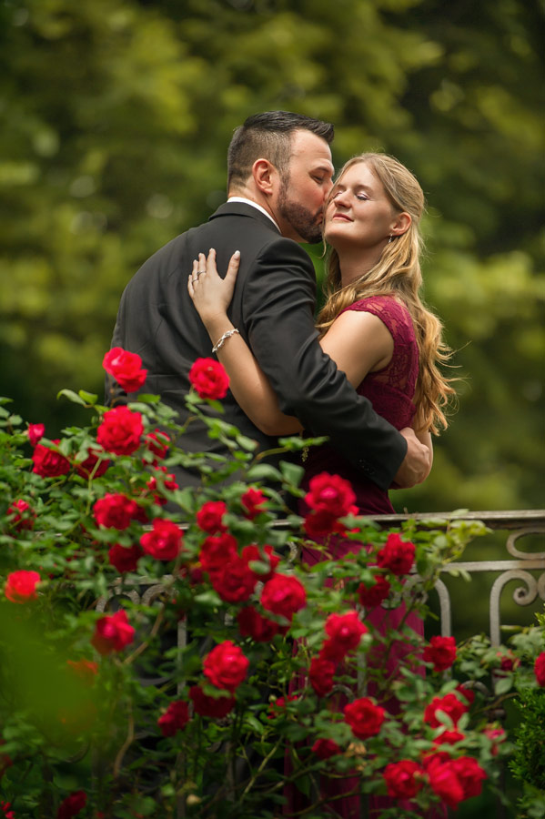 Brautpaarshooting im Bolongaropalast Garten