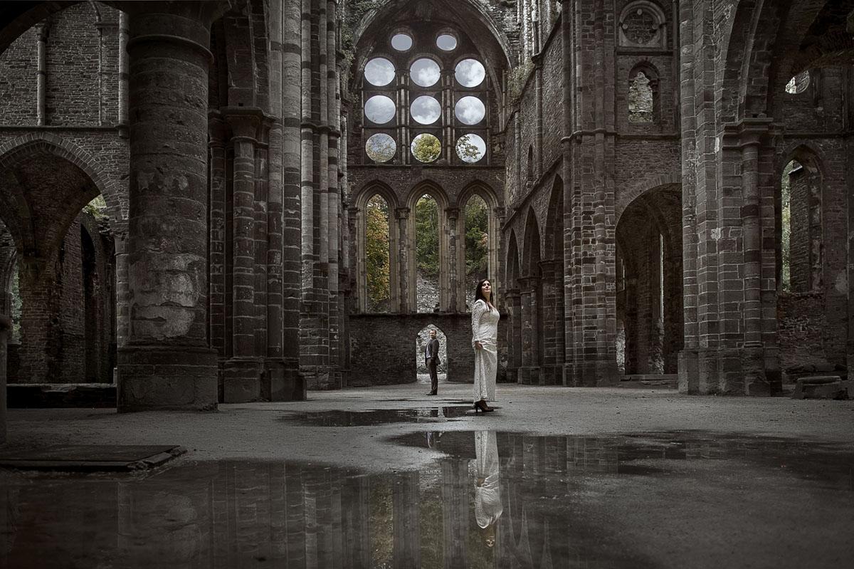 After wedding shooting in Ruinen