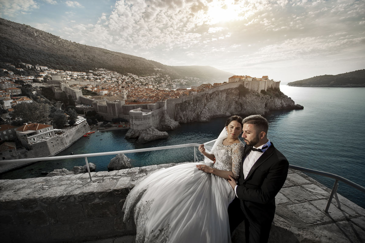 After Wedding Foto Shooting in Dubrovnik