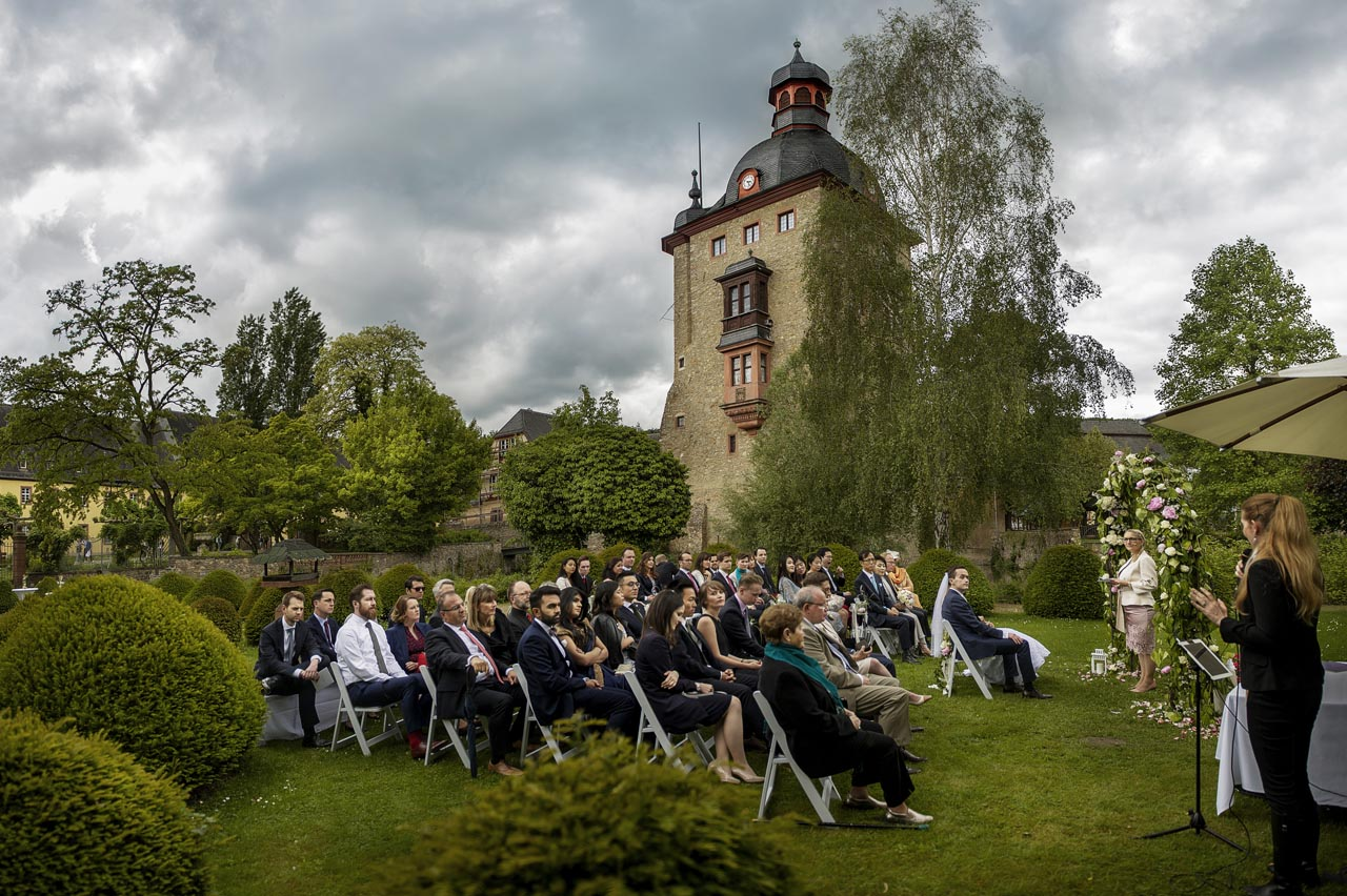 Freie Trauung im Schloss Vollrads