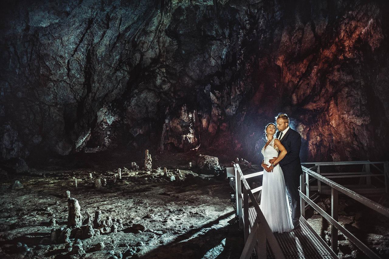 Freie Trauung in einer Tropfsteinhöhle