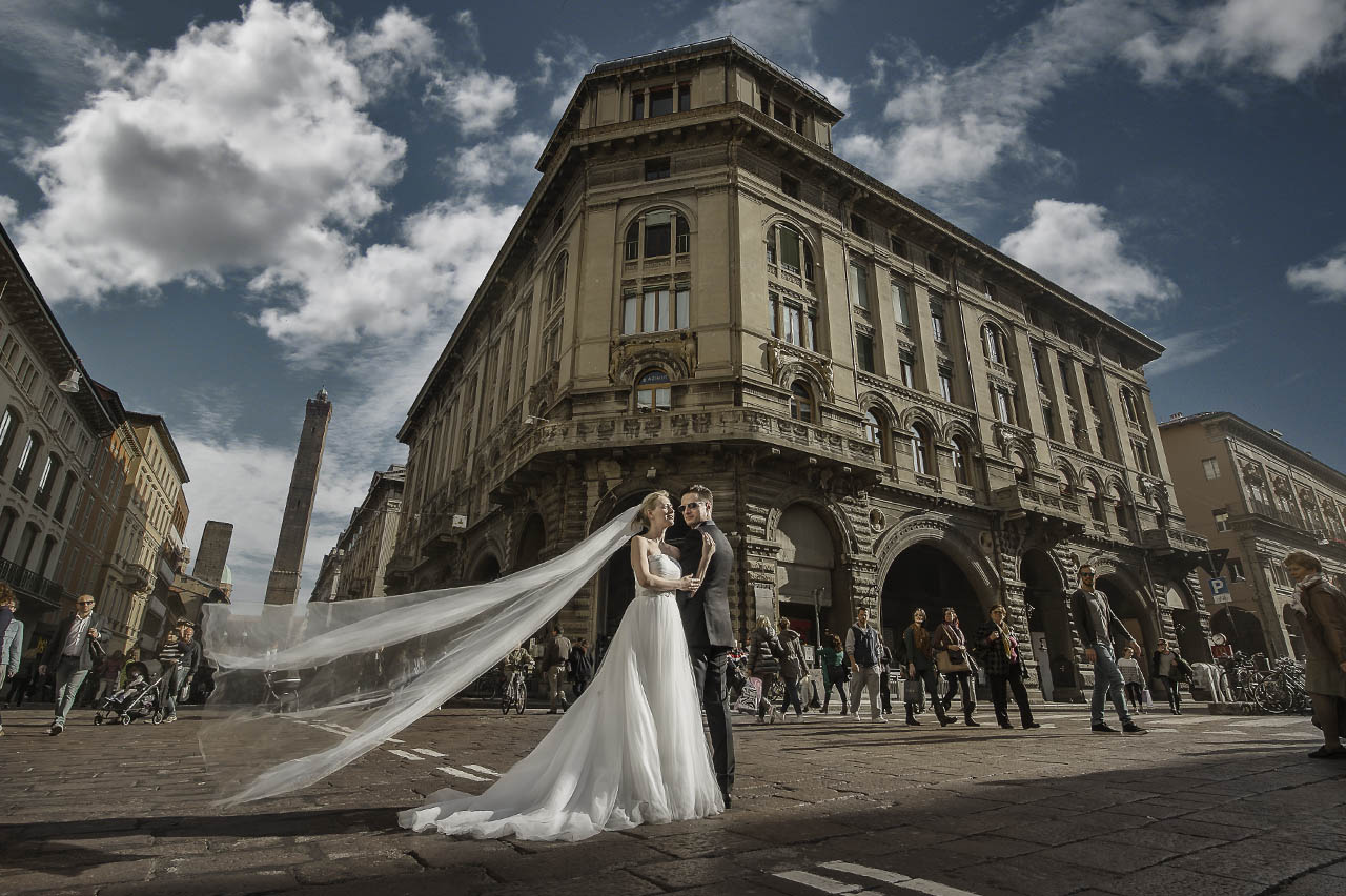 after wedding shooting italien
