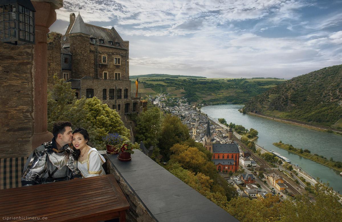 Fotoshooting in Schloss Oberwesel