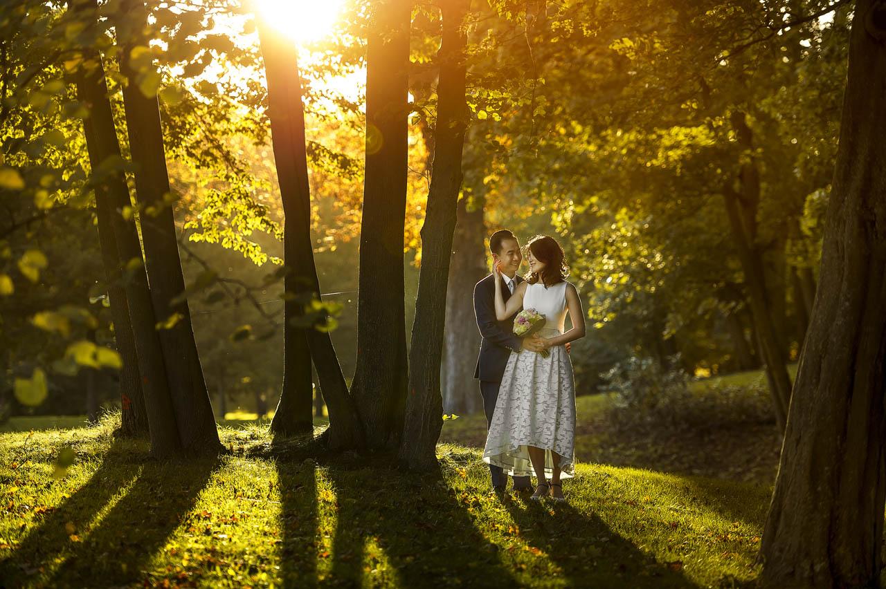 Brautpaarshooting im Schlossgarten Fulda