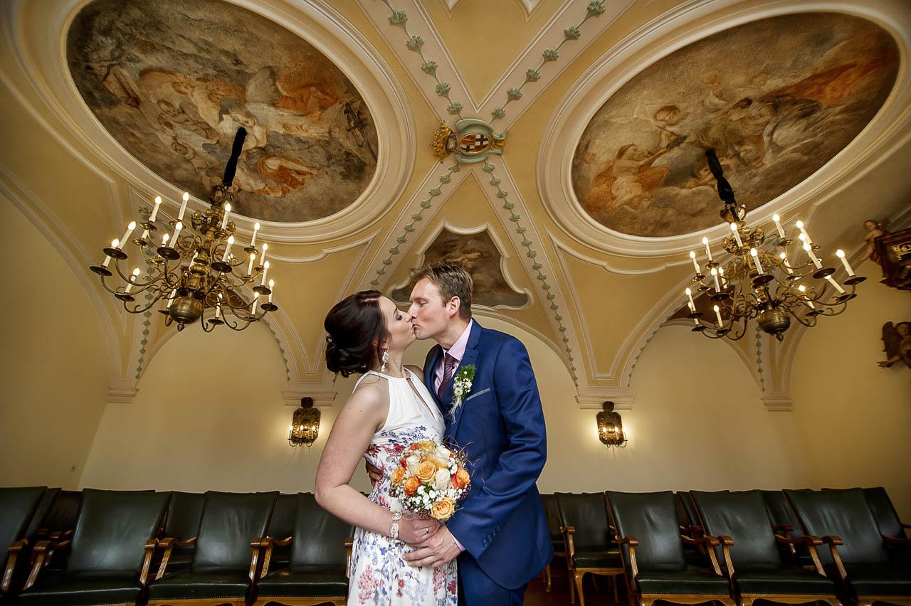 Brautpaar Fotos im Schloskapelle Fulda