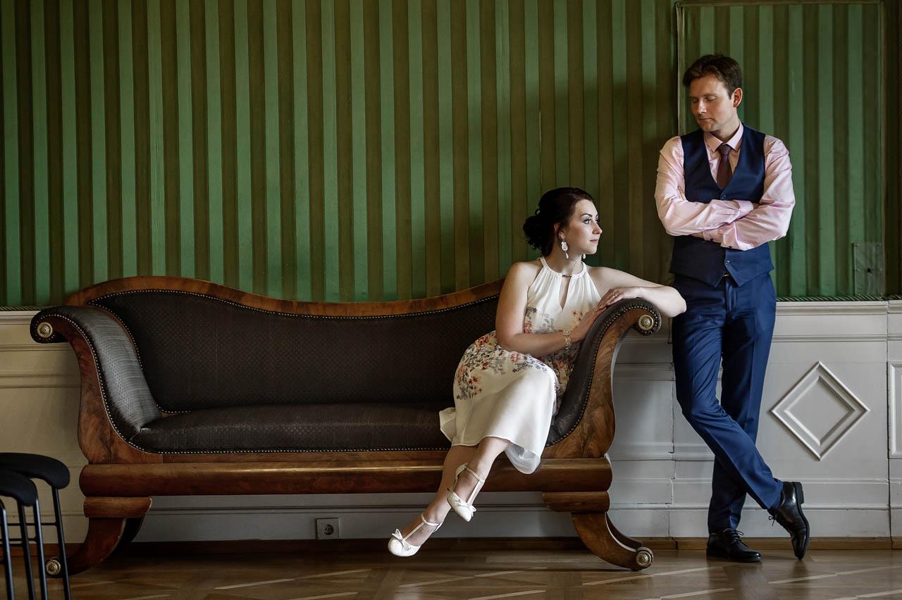 Brautpaarshooting im Grüne Zimmer