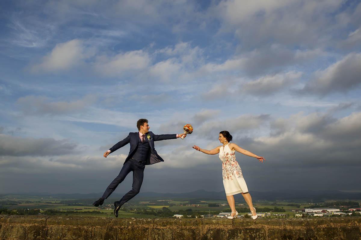 Standesamtliche Trauung Brautpaarshooting Petersberg