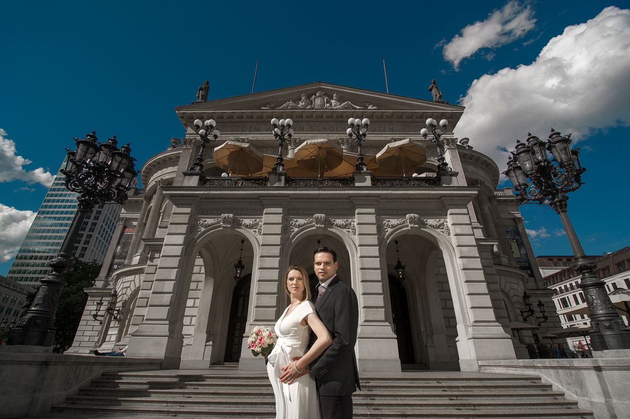 Couple Photo shoot Alte Oper
