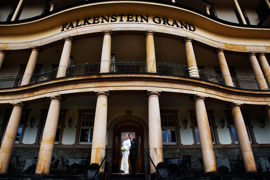 Hochzeit in Falkenstein Grand Kempinski