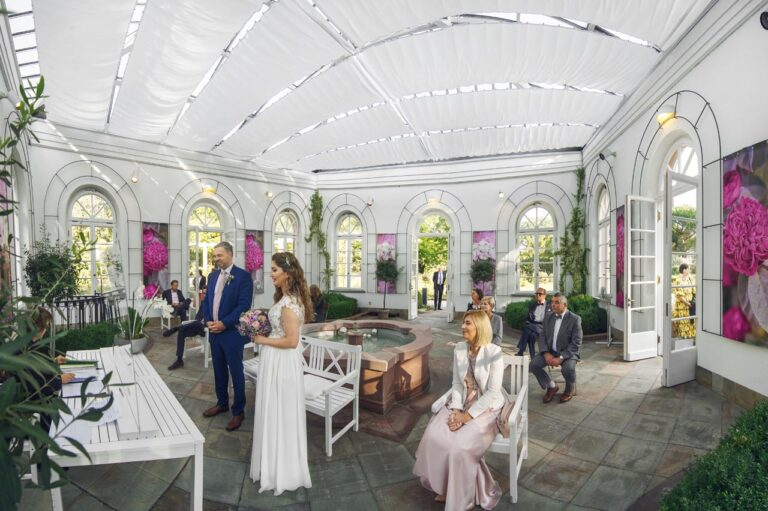 Heiraten im Palmengarten Frankfurt