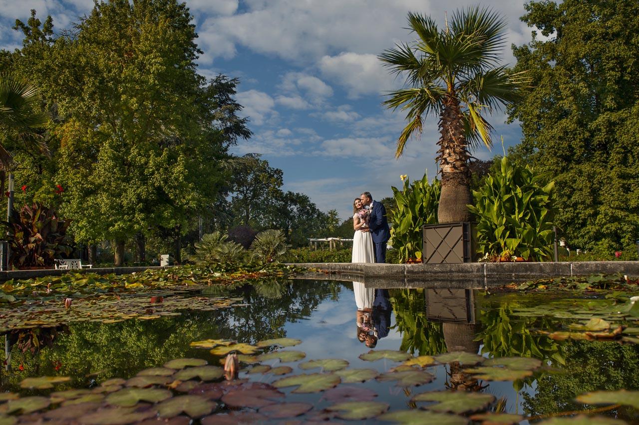 Brautpaarshooting in Palmengarten Frankfurt am Main